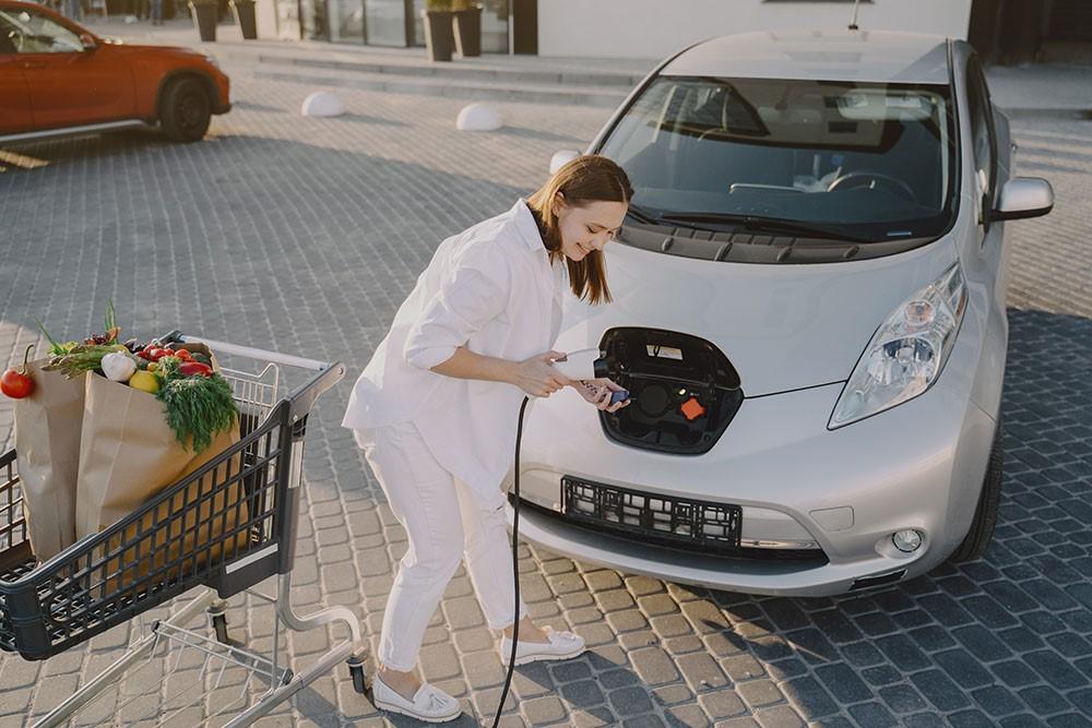 comment fonctionne voiture électrique