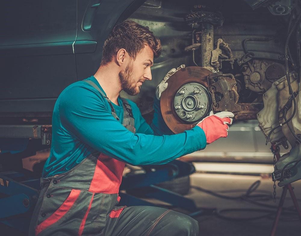 composants du système de freinage automobile